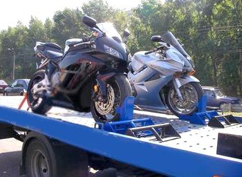 Возможные проблемы при эвакуации мотоцикла